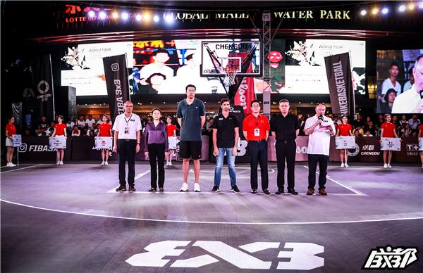鏖战成都 2019国际篮联3X3世界巡回大师赛开打